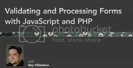 Lynda – Validating and Processing Forms with JavaScript and PHP