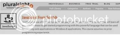 Pluralsight - JavaScript From Scratch Training