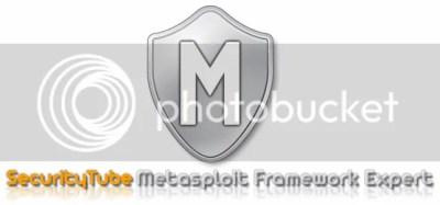 SecurityTube Metasploit Framework Expert