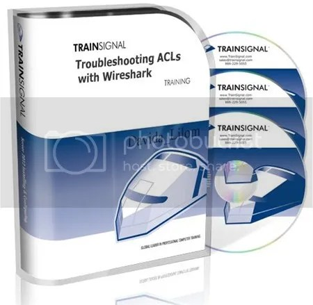 TrainSignal – Troubleshooting ACLs with Wireshark