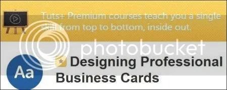 Tutsplus – Designing Professional Business Cards