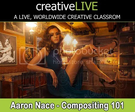 creativeLIVE – Compositing 101 with Aaron Nace