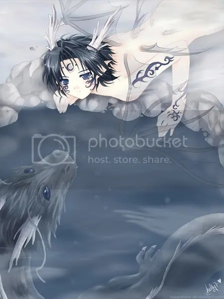 anime water dragon pictures