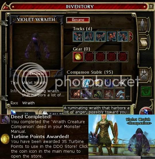 Wraith pet!