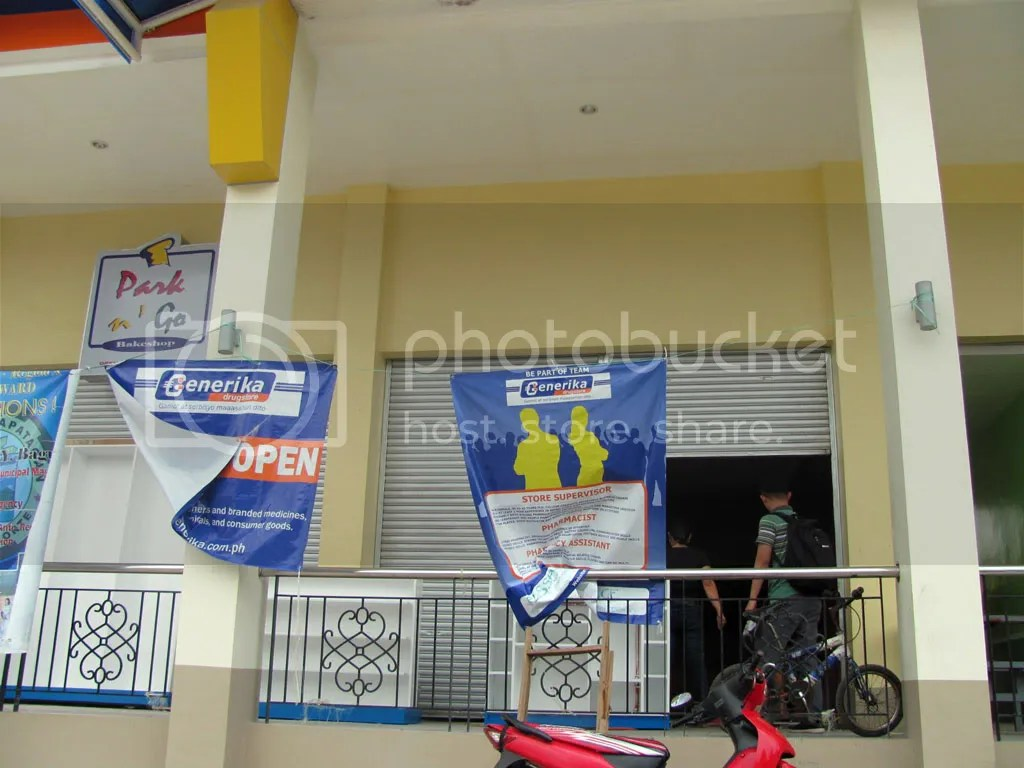 Soon to Open: Generika Kapatagan Branch