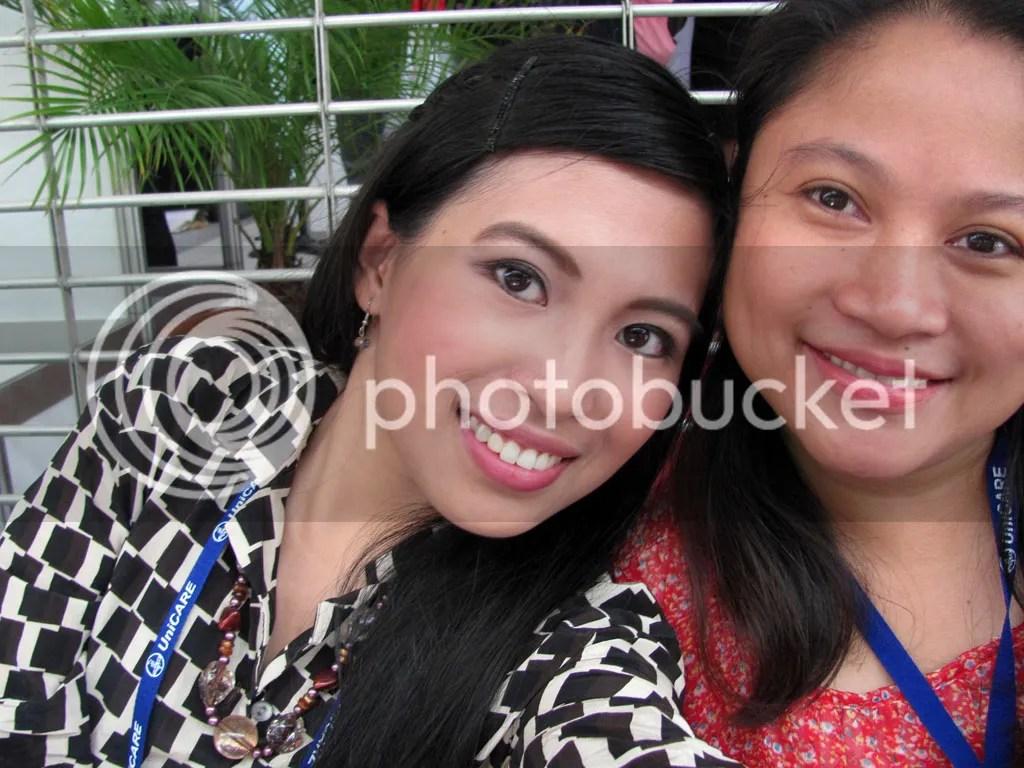 With Ms. Mude (Pharmacist of Generika Soledad Branch)