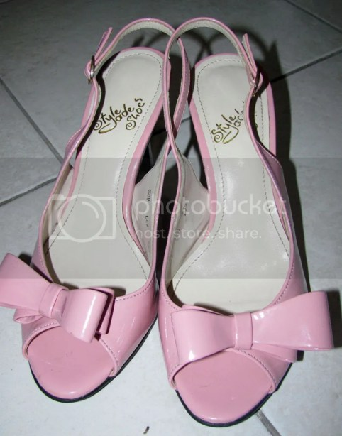 Pink Slingback Heels bought for P135