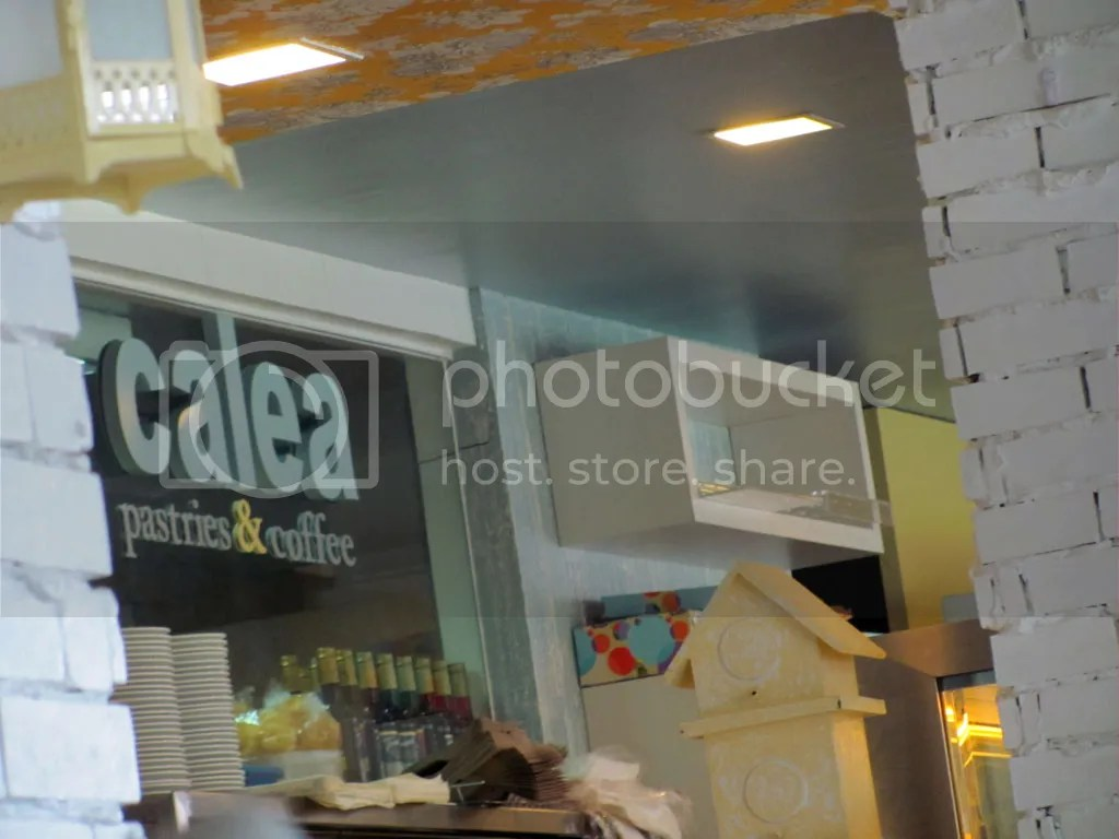 Calea's Sign Inside the Store