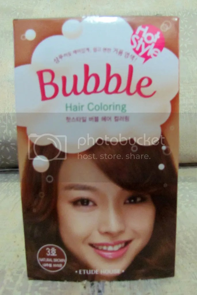 Etude House Bubble Hot Style Bubble Hair Coloring #3 Natural Brown