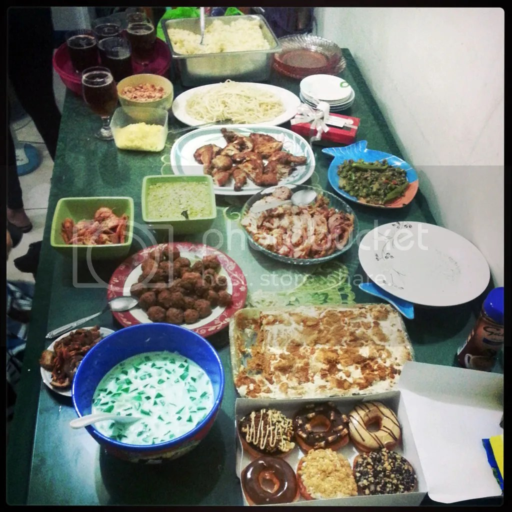 New's Year Eve Feast