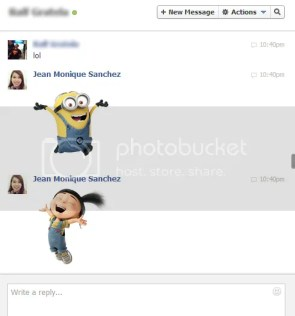 Facebook Chat Window