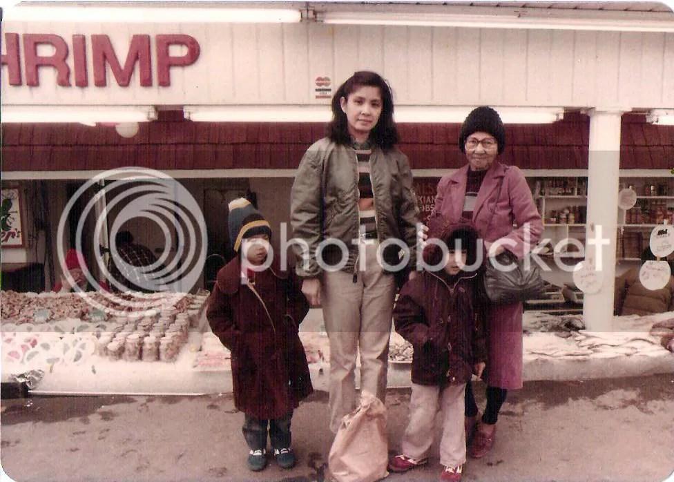 Tita Wilma, Ate Trixie, Kuya Dodi, and Lola