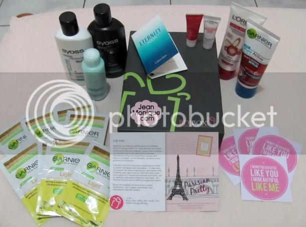 Contents of October 2012 BDJ Box