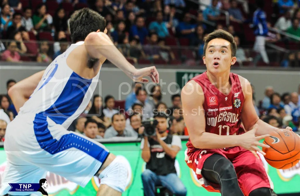 Paul Desiderio very eager to carry his team to a victory to no avail as they lose 'Battle of Katipunan' anew. Photo by Katrina Artiaga