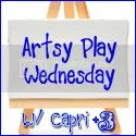 Artsy Play Wednesday with Capri +3