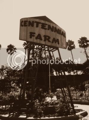 centennial farm sign tower