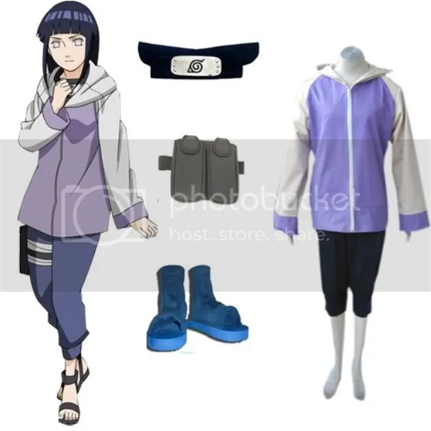 Hyuuga Hinata from Naruto (Naruto Shippuuden Version)