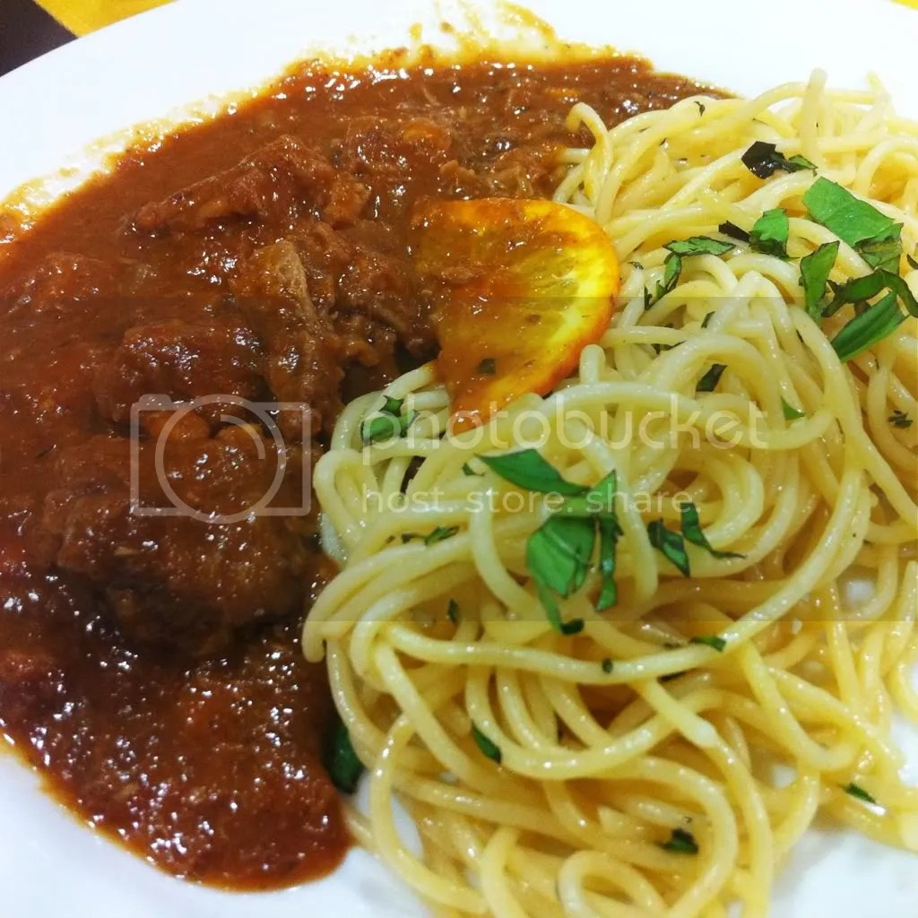 Osso Buco with Pasta