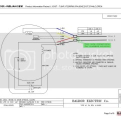 Motor Wiring Diagram Of Mouth And Throat 5 Hp Baldor Get Free Image About