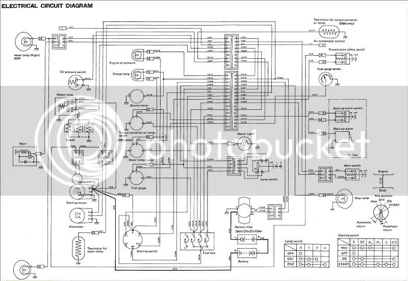 Komatsu Bulldozer D20P-6 D21P-6 D20 D21A P S Q 6 Service