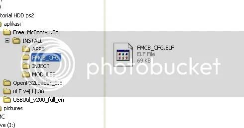 MENJALANKAN GAME PS 2 PAKE FLASH DISK/HARD DISK EXTERNAL VIA COLOKAN USB YG ADA DI CONSOLE PS 2 (FAT MAUPUN SLIM) (4/6)