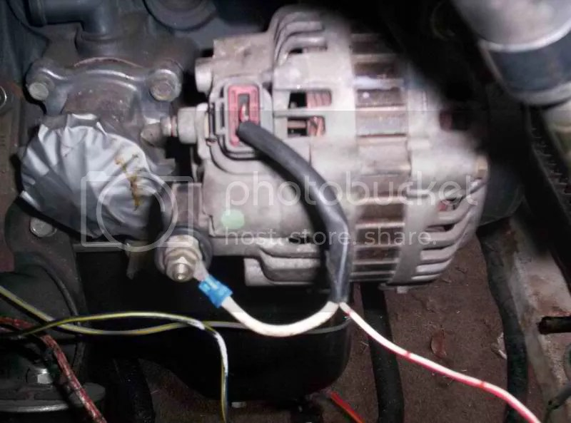 91 240sx S13 Ka24de Engine Wiring Nissan 240sx Alternator Wiring