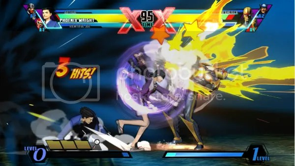 Ultimate Marvel vs. Capcom 3 Phoenix Wright