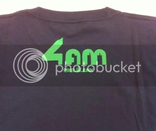 PixelJunk 4am shirt - back