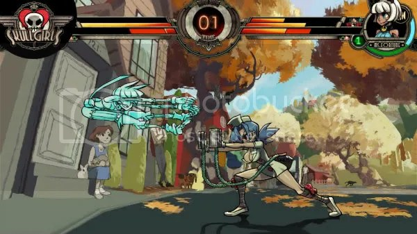 Skullgirls revisits the Golden Age of fighting games and animation