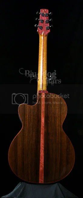 Purple Heart Wood Guitar