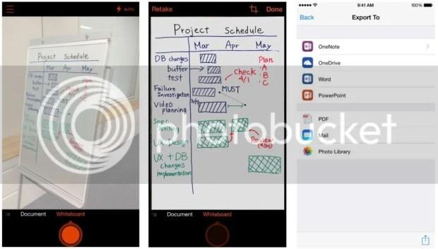 Office Lens app