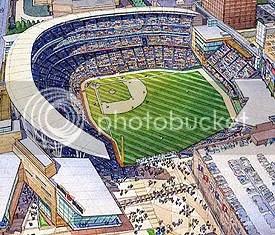 The Minnesota Twins' new ballpark