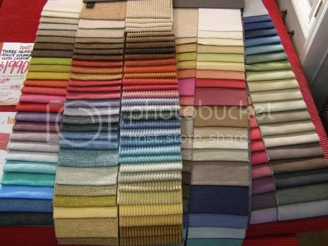 Far to many colours to choose from, and textures... ohh I was in heaven