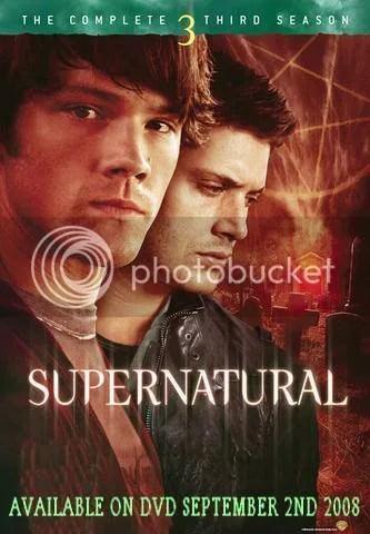 DVD Cover For Supernatural Season 3