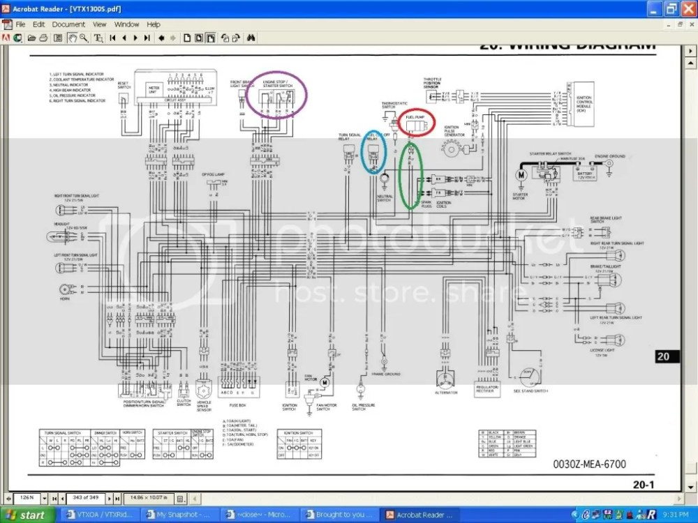medium resolution of vtx 1800c wiring diagram schematics wiring diagrams u2022 rh parntesis co 2004 honda vtx 1300c 2005