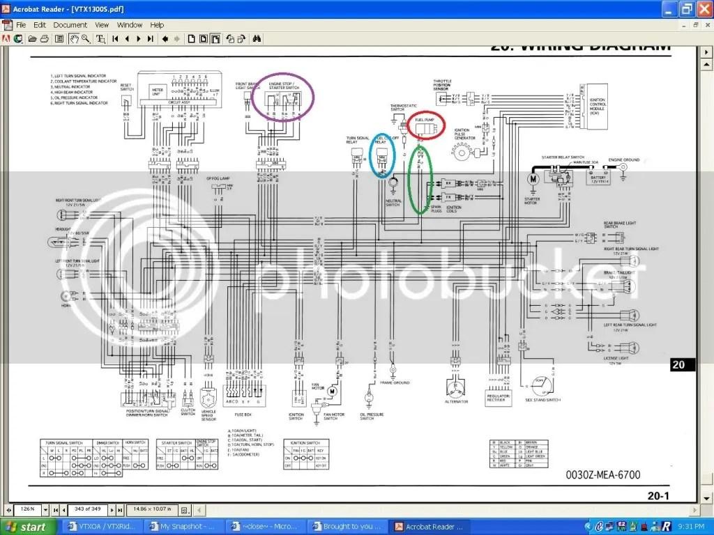 hight resolution of vtx 1800c wiring diagram schematics wiring diagrams u2022 rh parntesis co 2004 honda vtx 1300c 2005