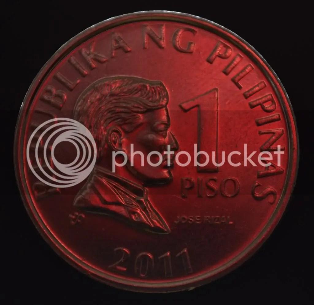peso coin photo: One peso coin piso.jpg