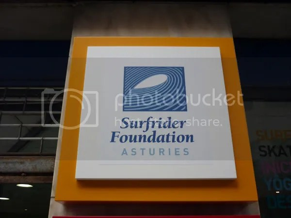 Rotulo Surfrider Foundation Asturies
