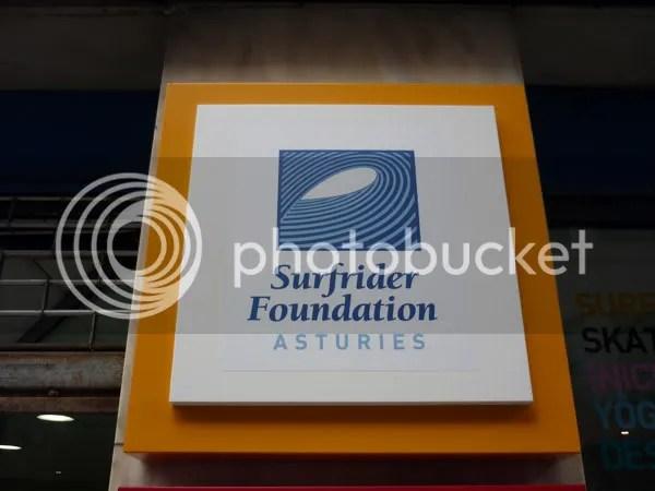 Rotulo Surfrider Foundation Asturies