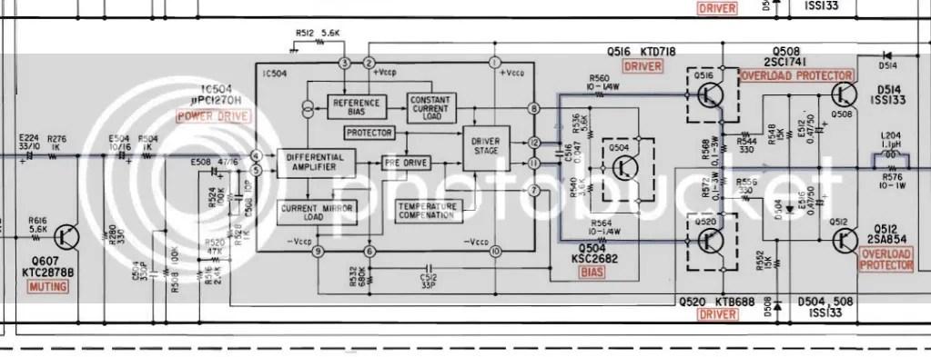 Alpine 3553 amplifier