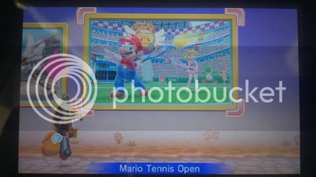 Fertiges Mario Tennis Open Puzzle