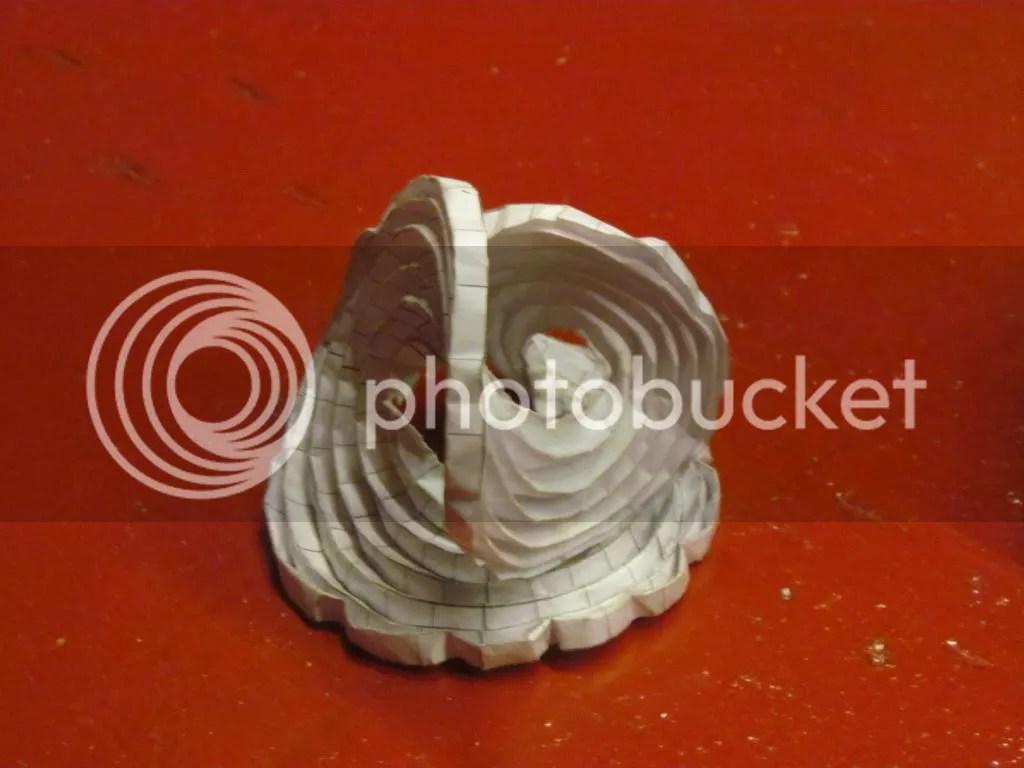 Curved origami Krishna 300112