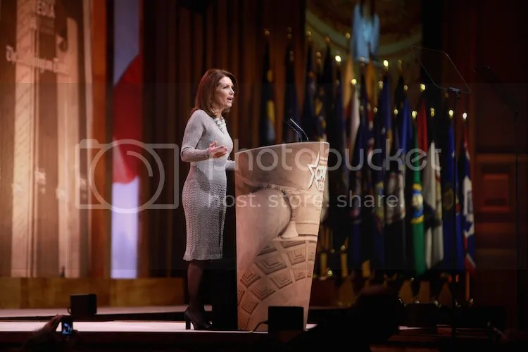 Outgoing Congresswoman from Minnesota, Michele Bachmann