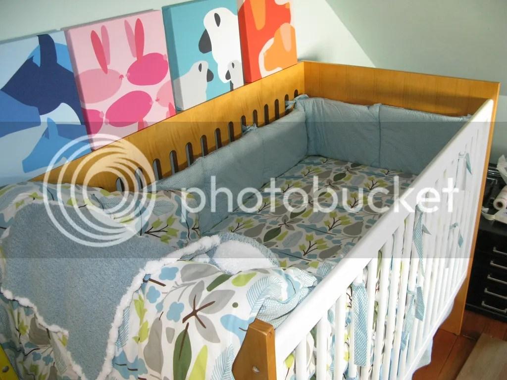 A child's crib