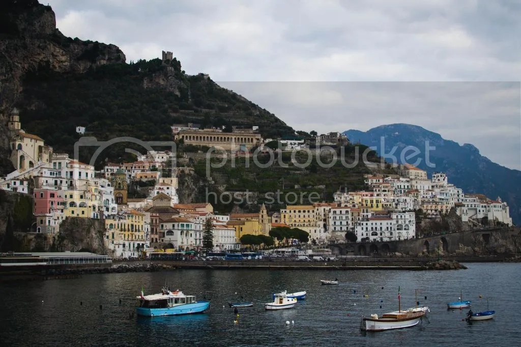 Beautiful coastal town of Amalfi