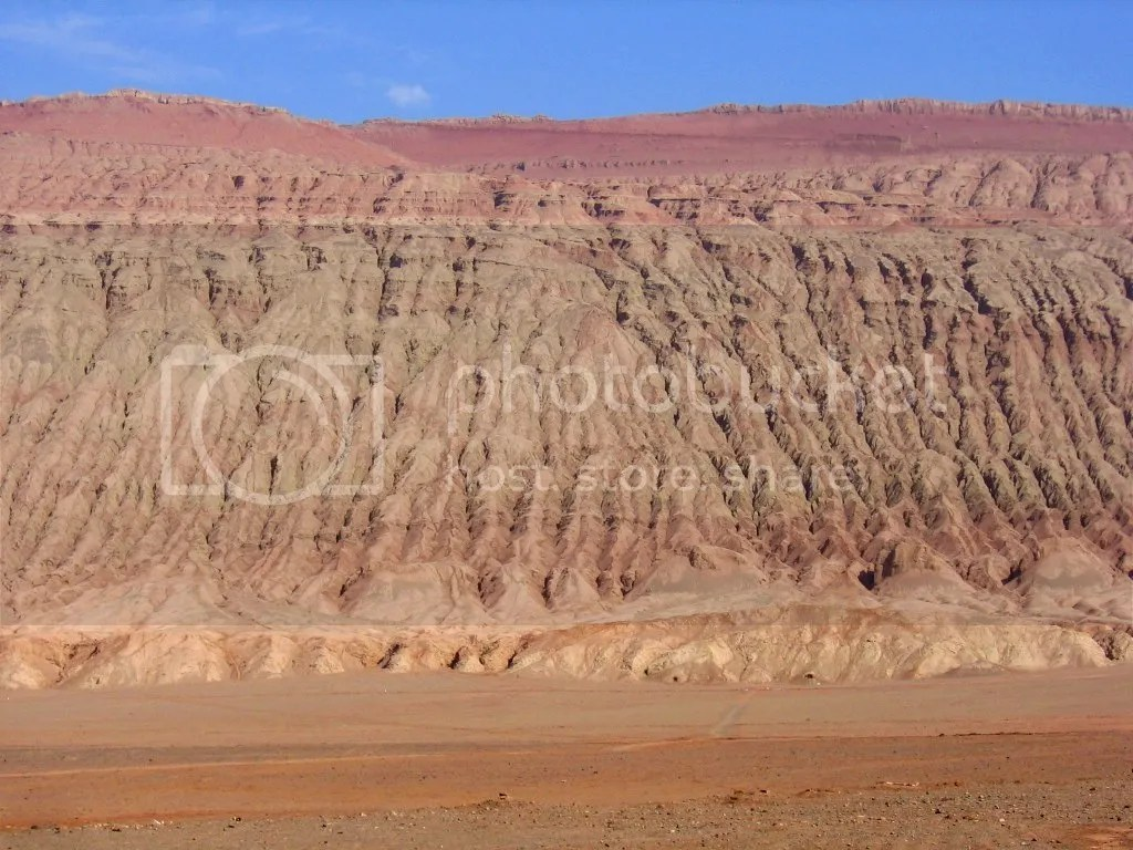 Turpan's Flaming Mountains