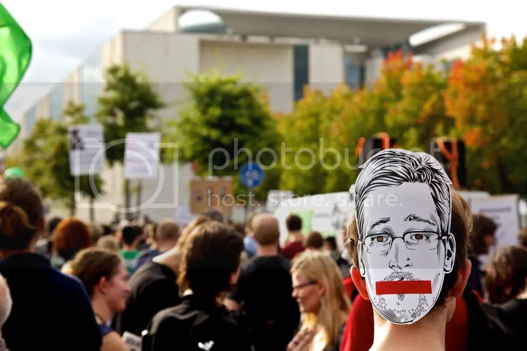 Anti-Surveillance Protest in Germany