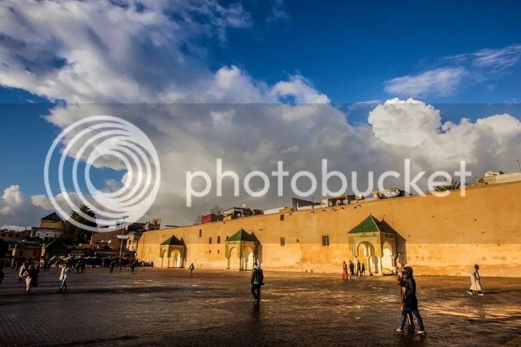 Meknes after rain