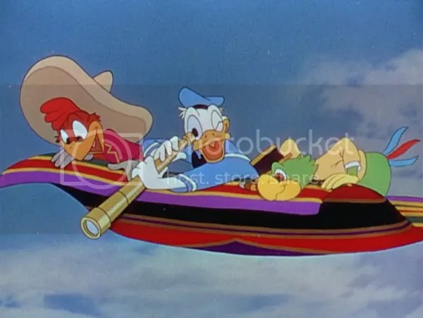 Donald Duck and The Three Caballeros (Love Meter Series: This Happy Place Blog)