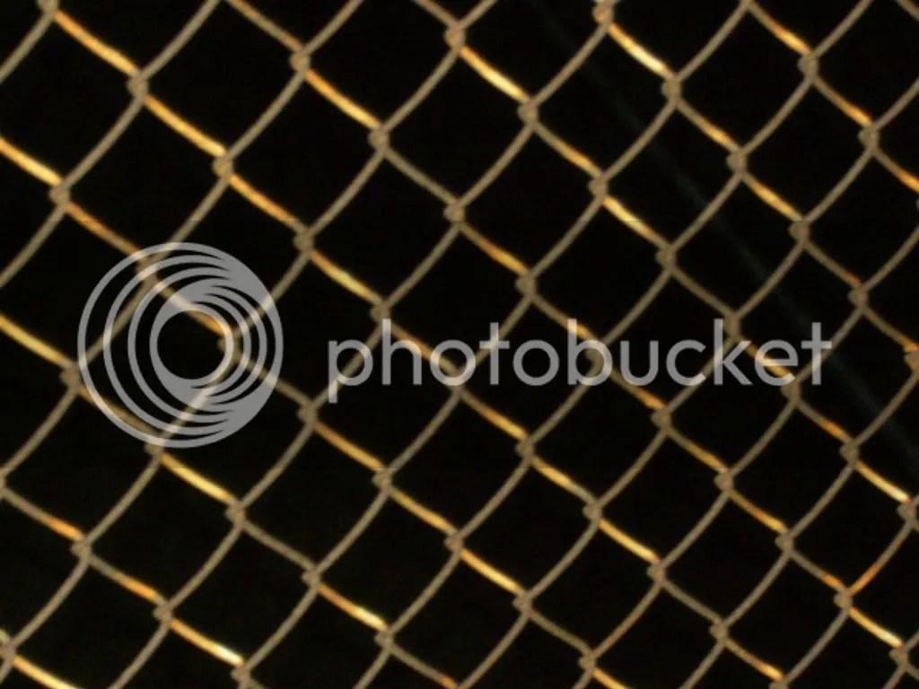 Pedestrian Bridge Fence